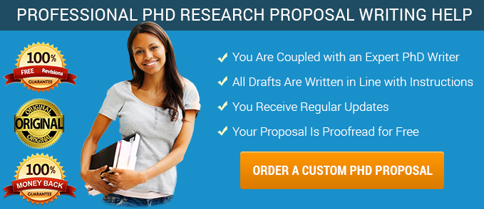 Phd research proposal writing services