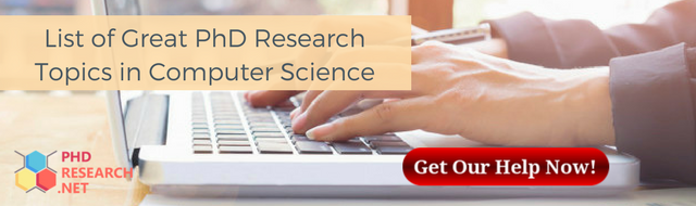 list of great PhD research topics in computer science