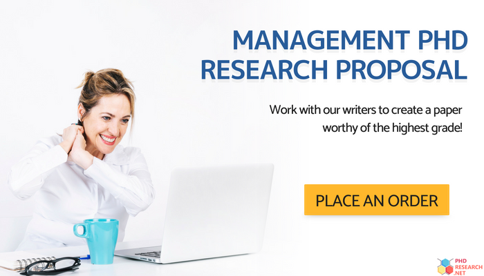 management phd research proposal writing