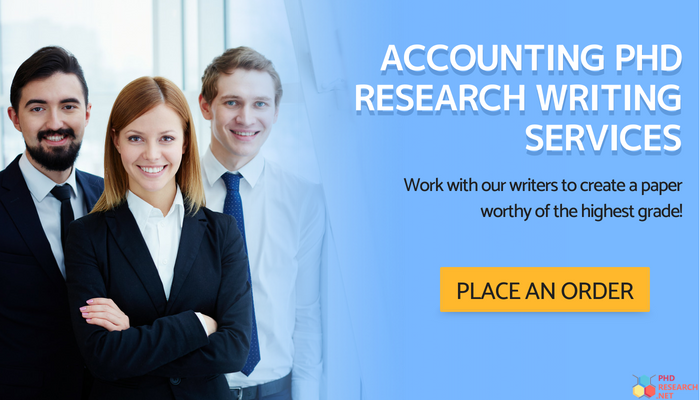 accounting phd research writing