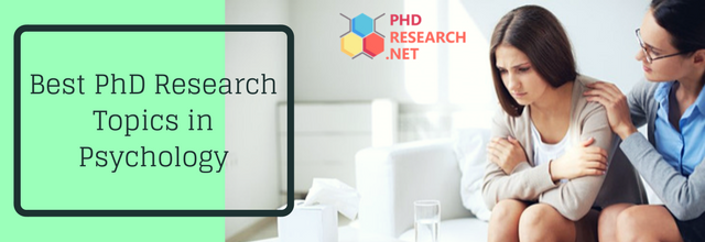 best PhD research topics in psychology