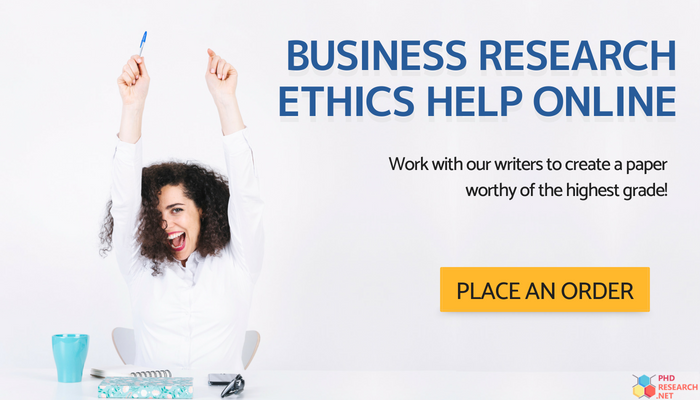 business research ethics help
