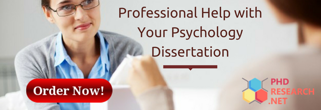 professional help with your psychology dissertation