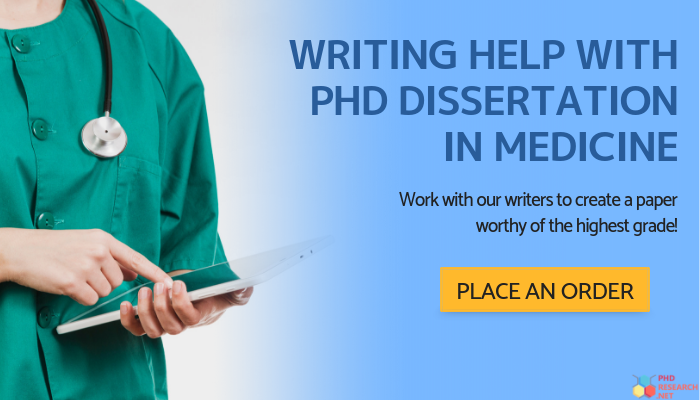 phd in medicine help online