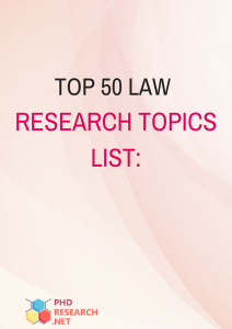 topics for phd in law