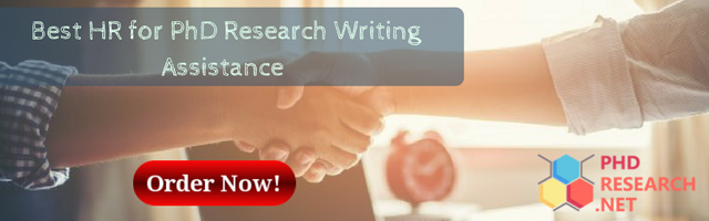 best HR for PhD research writing assistance