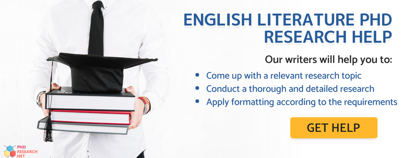 quality PhD in English literature writing help