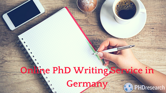 Need PhD writing help Germany
