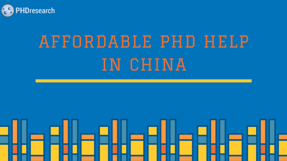 PhD thesis writing services China online