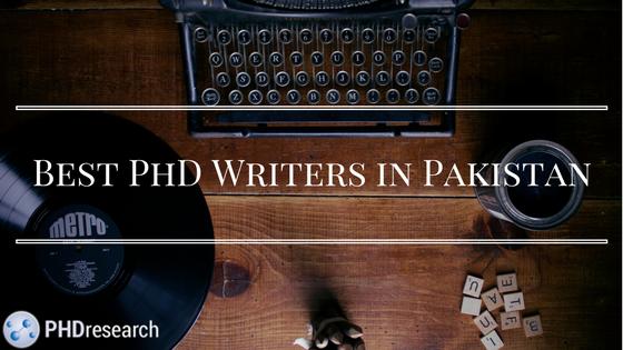 Start writing a PhD in Pakistan