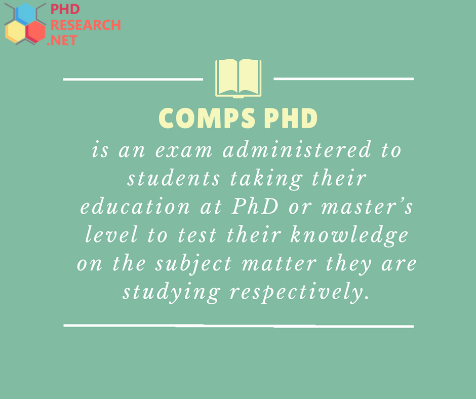 comps phd definition