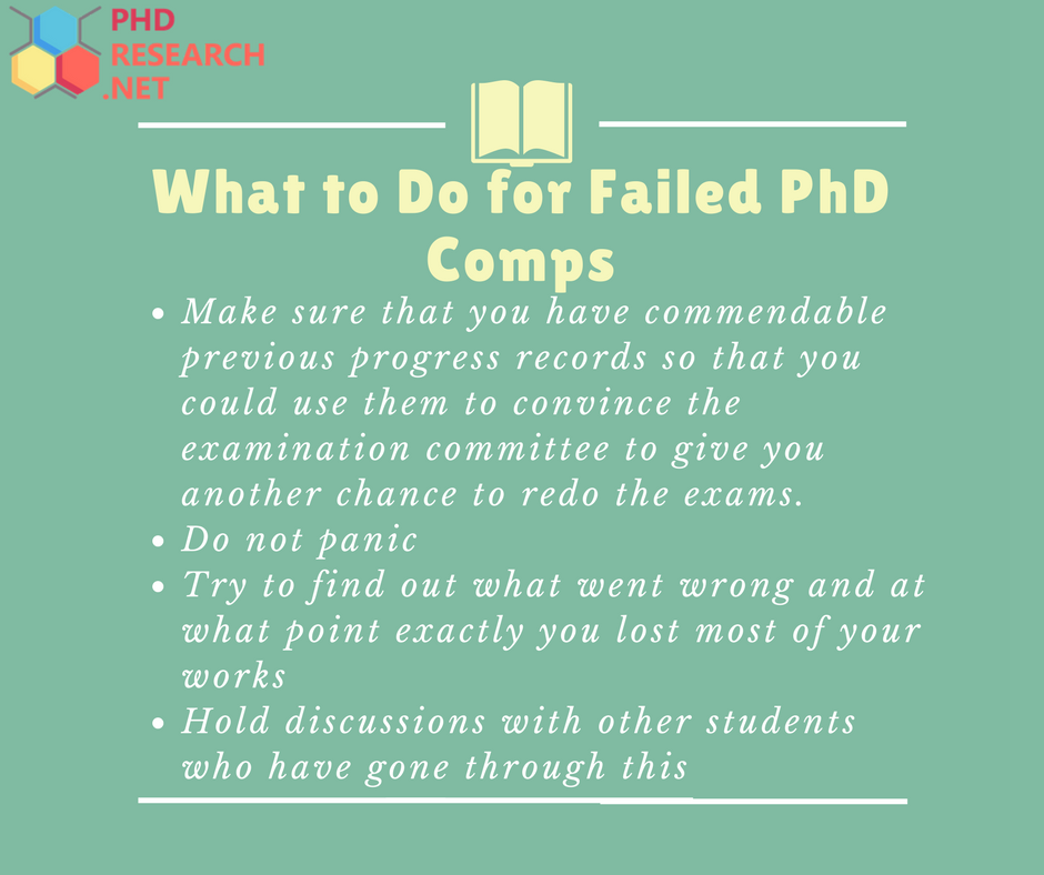 failed phd comps tips