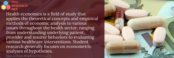 health economics programmes info