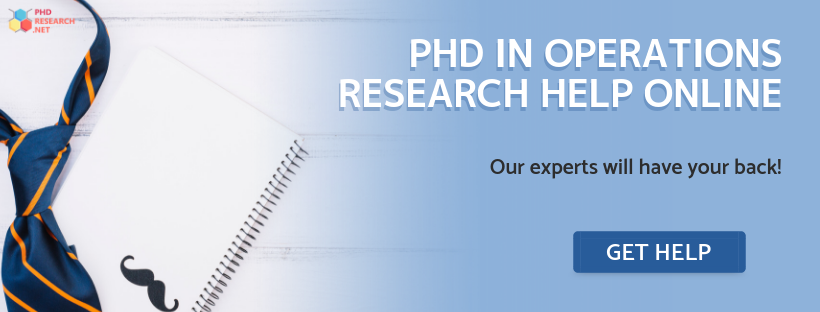 phd in operations research help online