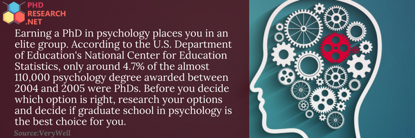 psychology phd statistics
