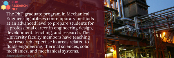 thermal engineering phd