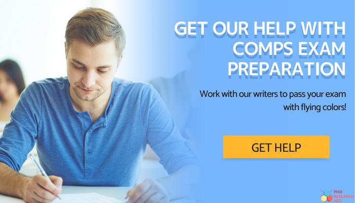comps exam online help