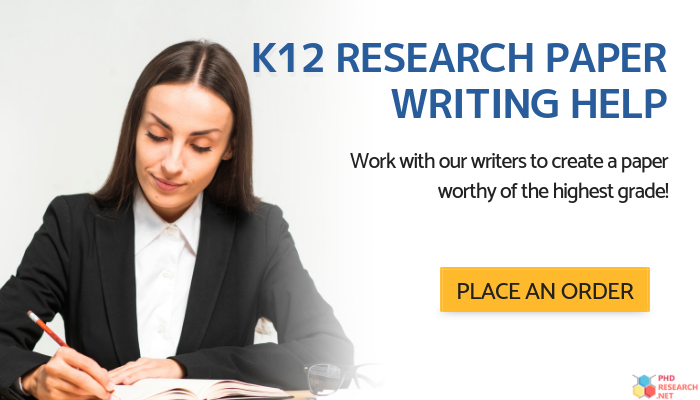 k 12 research paper writing