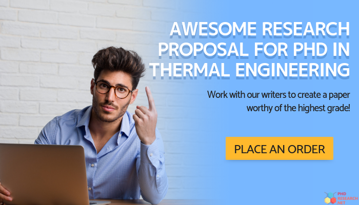 thermal engineers research proposal help
