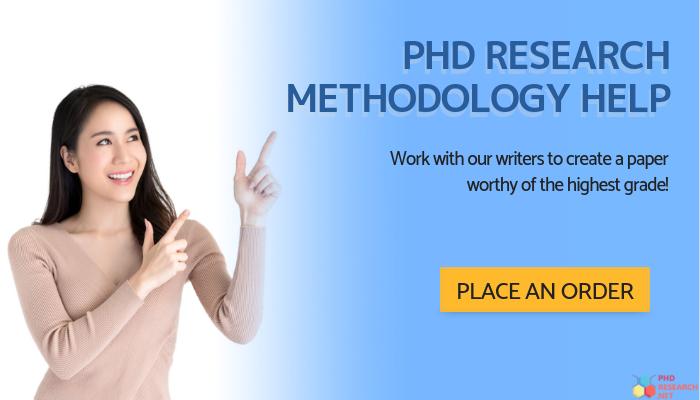 phd research methodology online help