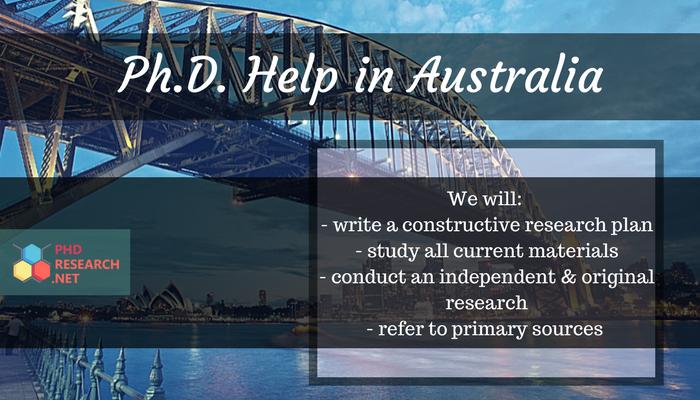 phd research writing in australia