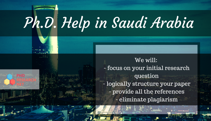 phd research writing saudi arabia
