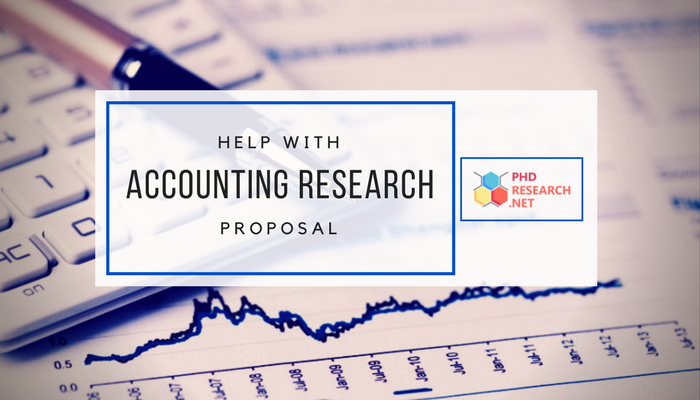 accounting research proposal writing services