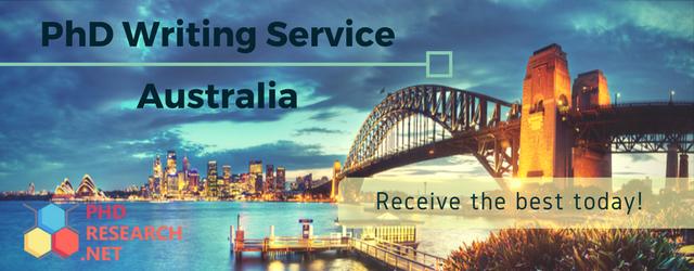 best phd writing service Australia