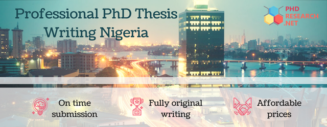 professional phd thesis writing Nigeria