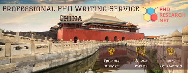 professional phd writing service China