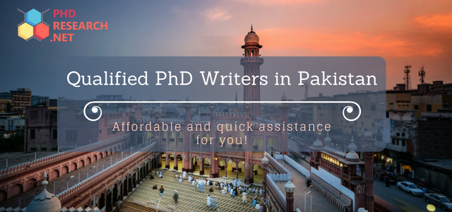 qualified phd writers in Pakistan