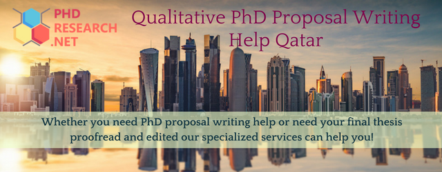 qualitative phd proposal writing help Qatar