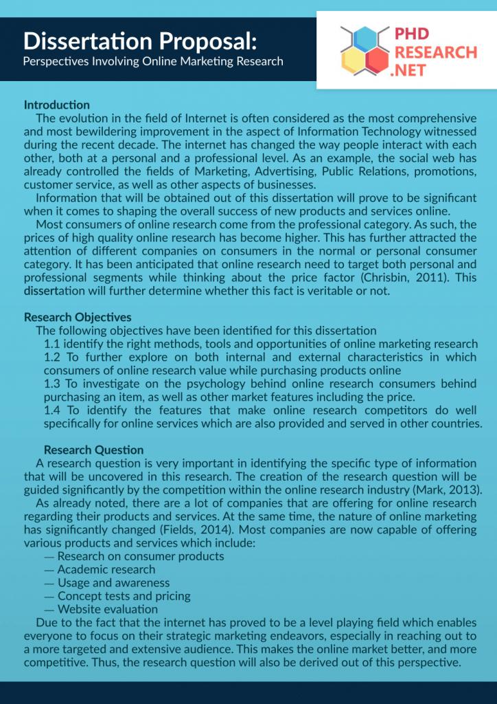Business plan market research