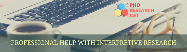 professional help with interpretive research