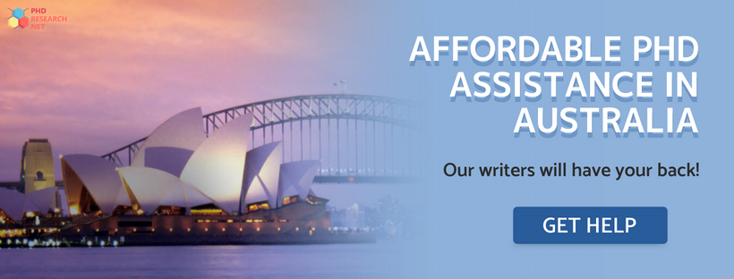 affordable phd assistance in Australia