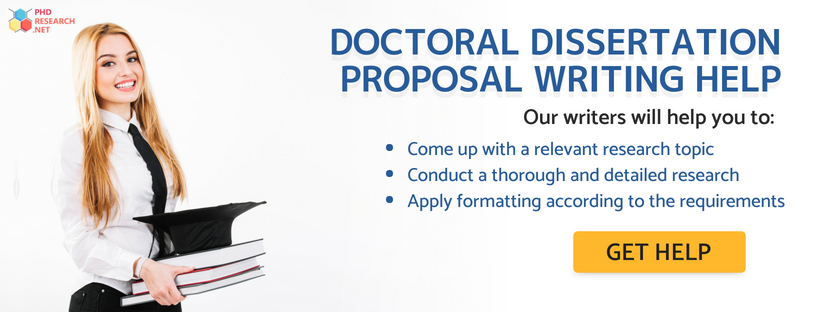 doctoral dissertation proposal help