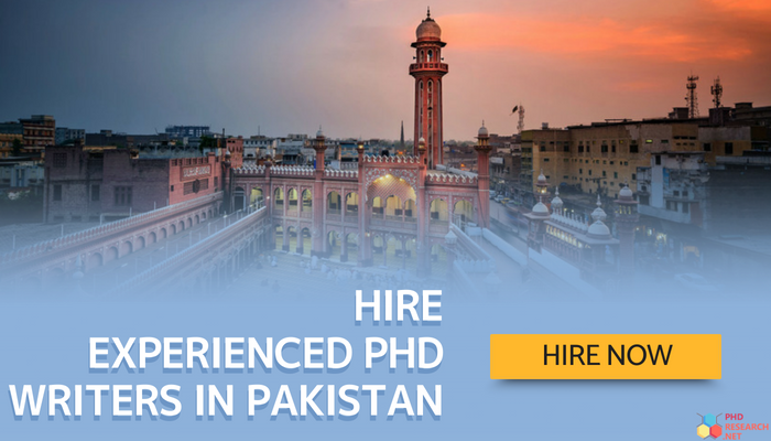 experienced PhD writers in Pakistan