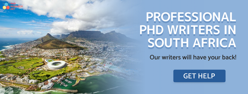 find PhD writers South Africa