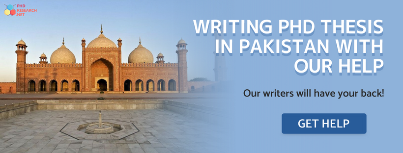 help writing PhD thesis in Pakistan
