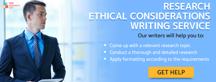 order research project ethical considerations