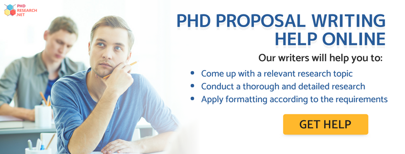 phd proposal writing help online