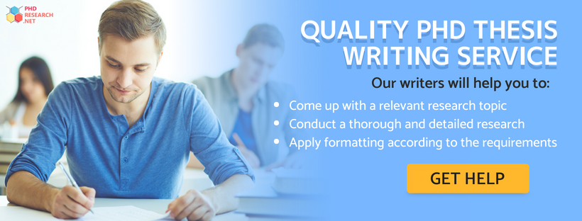 quality PhD thesis writing service