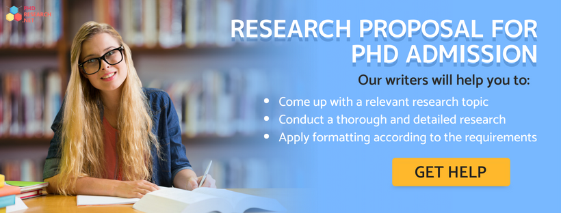 Research proposal for phd admission
