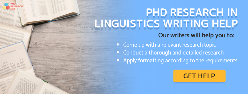 phd research in linguistics writing service