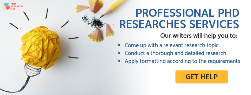 phd educational research online help