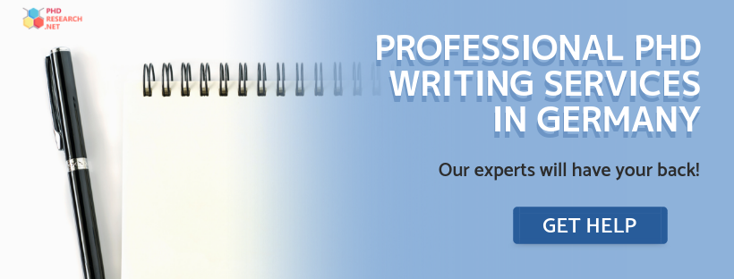 professional phd writing help germany